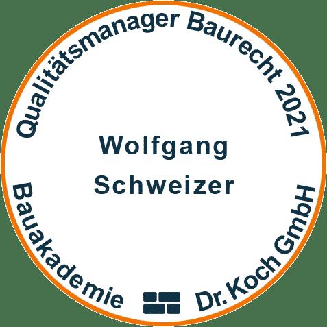 Qualitaätsmanager Baurecht 2021